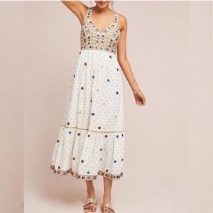 Anthropologie Nora midi Dress.